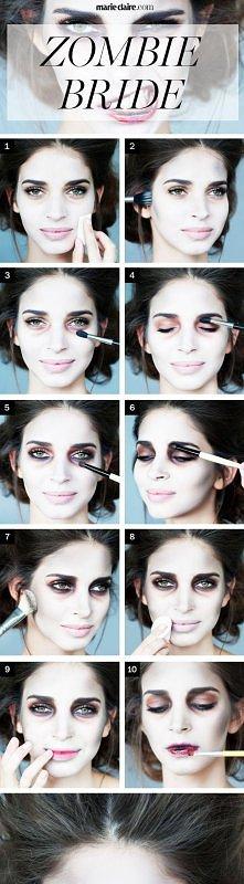 Makijaż na Halloween --->
