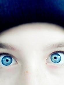cóż za oczy:) XDD