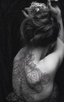 piękny tatuaż <3