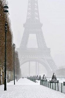 Zima w Paryżu