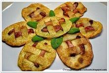 Chipsy ziemniaczane przeplatane boczkiem
