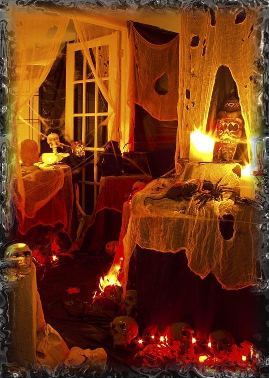 Dekoracja domu na Halloween