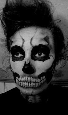 mój halloweenowy makeup