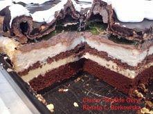 """Ciasto """" Słodkie Góry&..."""