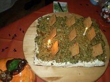 cmentarz- ciasto szpinakowe wg przepisu ze zszywki