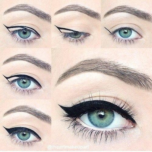 idealny makijaż