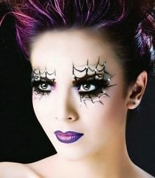 make-up halloweenowy