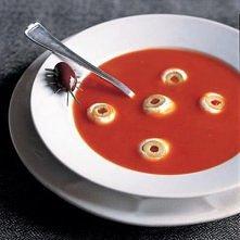 zupa pomidorowa na halloween