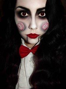 Halloweenowy makeup