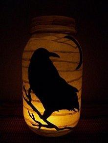 Halloweenowa dekoracja