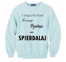 kup na SHOCK.COM.PL bluza młodzieżowa / bluza dla nastolatków z napisami / bl...