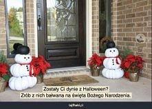 Wykorzystaj dynie z Hallowe...