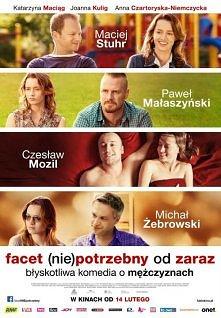 """Czy lubicie takie polskie komdedie romantyczne jak """"facet potrzebny od zaraz""""?"""