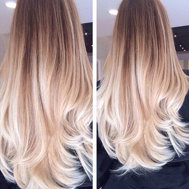 Długie Blond Włosy Na Włosy I Fryzury Zszywkapl
