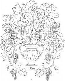 Portfolio of Designs for Embroidery