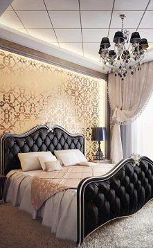 ...stylowa sypialnia