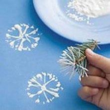 Jak zrobić dmuchawce lub śnieżynki