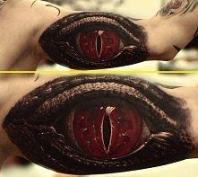 oczy tatuaż