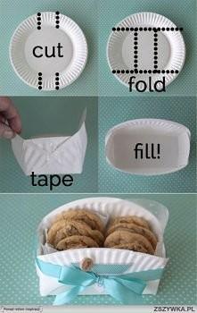 tak proste (: idealne opakowanie na słodki mały prezent (: