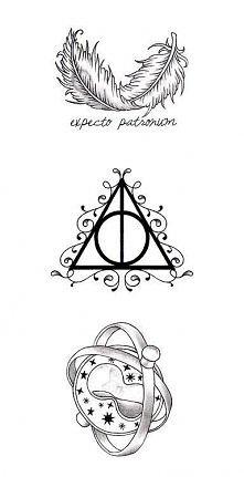 Tatuaże inspirowane Harrym ...