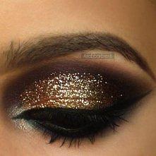 Makijaże ze złotym cieniem --->> 3 FILMY z instrukcjami