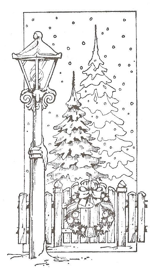 Colouring Pages Of Christmas Tree