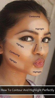 Konturowanie twarzy. Znacie jakieś dodatkowe triki?
