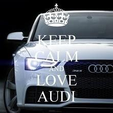 śliczne Audi :D