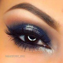 Makijaże przydymione oko, z...