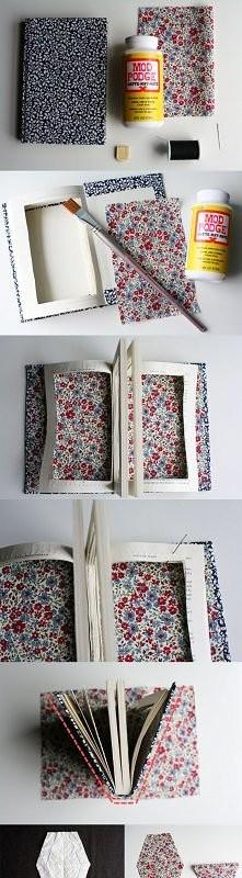 jak już nie wiecie co zrobić ze starą książką a żal wam jej wyrzucić :P