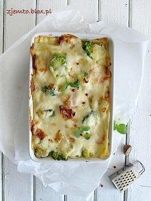 Składniki: makaron lasagne ...