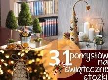 Środowe inspiracje - 31 stożków świątecznych