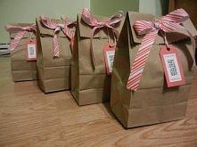 pomysł na zapakowanie prezentu
