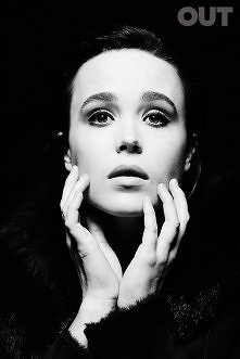 Ellen Page, photographed by Juco for OUT magazine, 2014.
