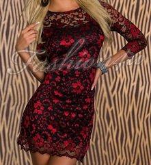 Śliczna sukienka z koronki, dobry pomysł na Sylwestra ;)