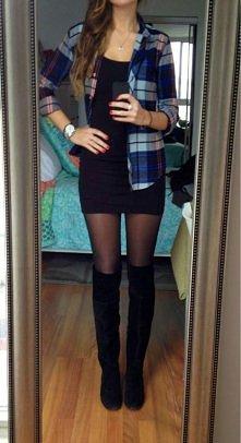 Kocham długie kozaki!!!  Zobacz z czym je nosić tej zimy --->>>