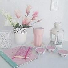 różowe (pudrowe) dodatki <3