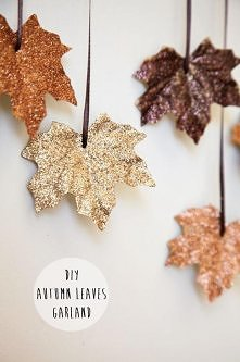 Glitter leaves, perfect to ...