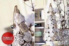 Twoje DIY - czyli zrób to sam: Środowe inspiracje - 31 stożków świątecznych