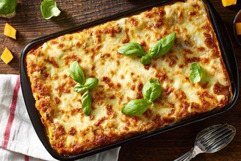 Kuchnia Lidla Lasagne Z Mozzarellą Dynią I Suszonymi