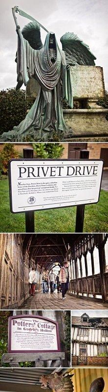 Miejsca znane z Harry'ego Pottera, które można zwiedzić. Koniecznie muszę tam pojechać! :)