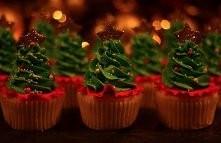 świąteczne babeczki :)