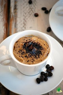 Kawowy krem jaglany