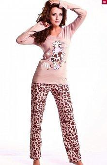 6e64be65f1039b Dobranocka PBL.6031 piżama Radosna, pozytywna i bardzo dziewczęca piżama,  idealna na dobry sen