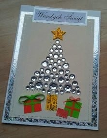 Pomysł na kartkę DIY mojego wykonania :)