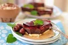 Kakaowe ciasto z kaszy mann...