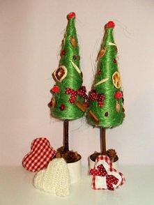Zestaw świątecznych choinek...