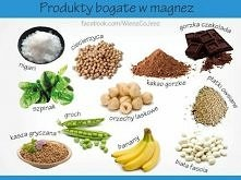 produkty bogate w magnez