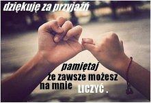 dziekuję że jesteś:-)