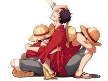 Monkey D. Luffy- główny bohater anime i mangi One Piece. Luffy jest kapitanem...